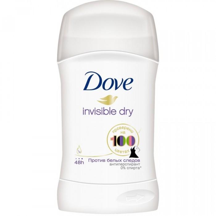 Косметика для мамы Dove Антиперспирант для женщин Невидимый стик 40 мл косметика для мамы camay дезодорант антиперспирант стик мадмуазель 40 мл