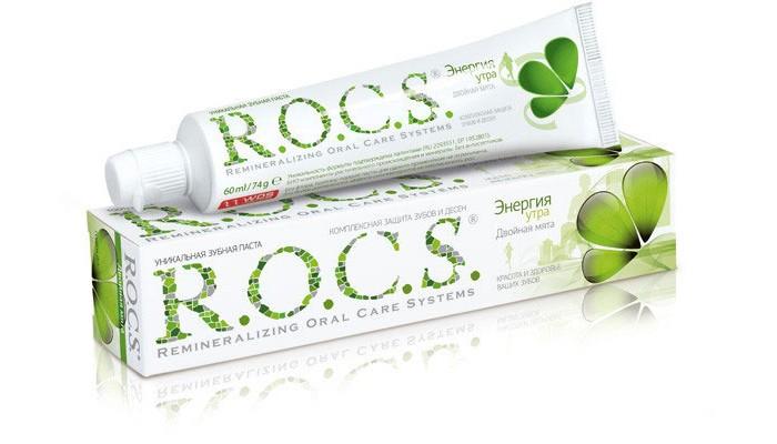 Гигиена полости рта R.O.C.S. Двойная Мята Зубная паста 74 гр зубные пасты r o c s зубная паста шоколад и мята 74 гр