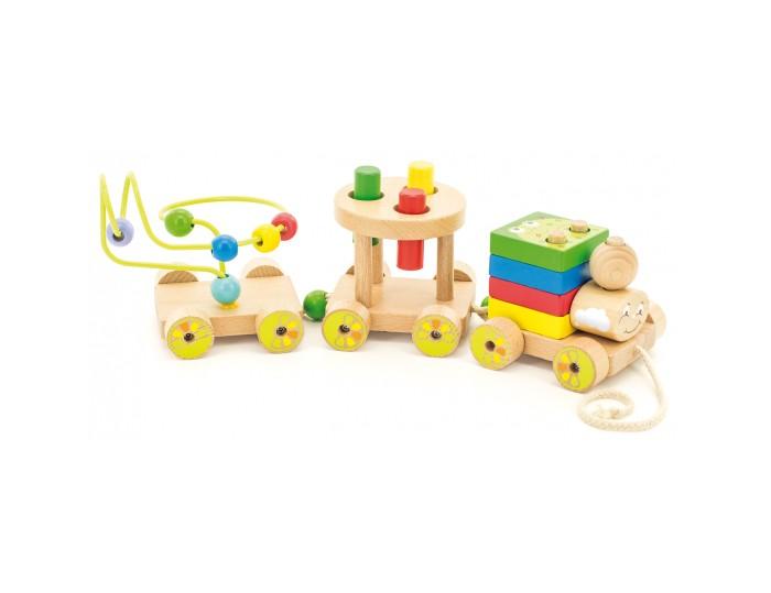 Деревянные игрушки Мир деревянных игрушек Паровозик Чух-чух №2 паровозик чух чух чух лесное путешествие