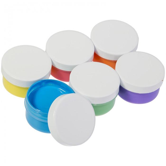 Краски Мульти-пульти Краски пальчиковые для малышей Морские приключения Енота 6 цветов 360 г краски спейс краски пальчиковые 6 цветов сенсорные