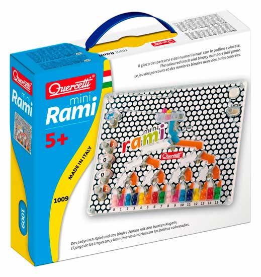Игры для малышей Quercetti Настольная игра Распредели цвета мини