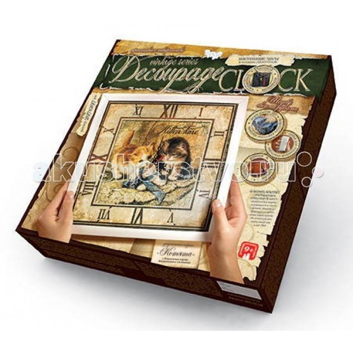 Danko Toys Комплект для творчества Decoupage clock Часы 3