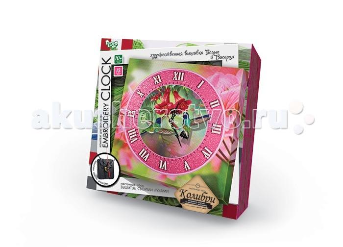 Наборы для творчества Danko Toys Комплект для творчества Embroidery clock Колокольчики