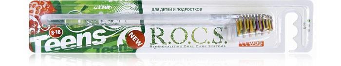 Гигиена полости рта R.O.C.S. Teens 8-18 Модельная Зубная щетка  мягкая гигиена полости рта r o c s модельная зубная щетка средняя