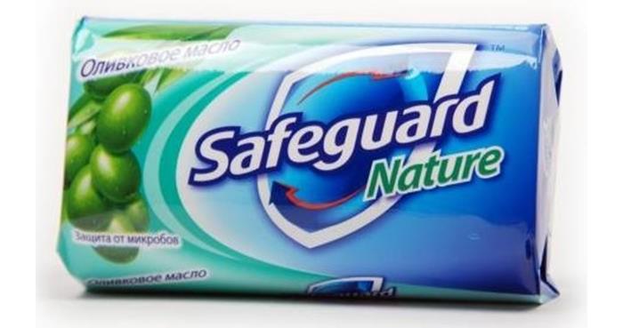 Косметика для мамы Safeguard Мыло туалетное С капелькой Оливкового Масла 90 г karali мыло туалетное віленскае барока цвет белый 80 г