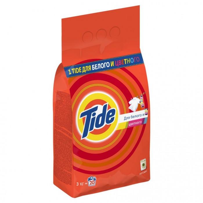 Бытовая химия Tide Порошок Автомат Для белого и цветного 3 кг