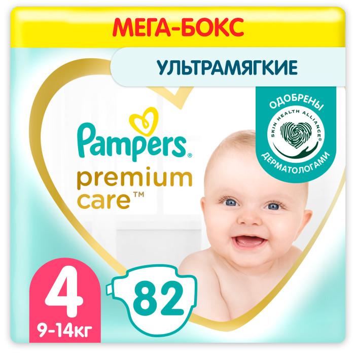 Подгузники Pampers Подгузники Premium Care Maxi р.4 (8-14 кг) 104 шт. pampers подгузники pampers premium care 8 14 кг 104 шт