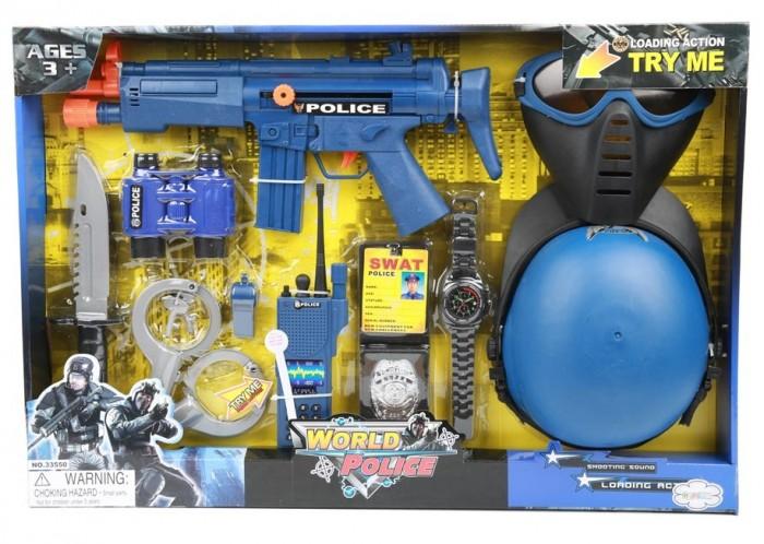 Купить Игровые наборы, Игруша Набор игровой Полиция на батарейках