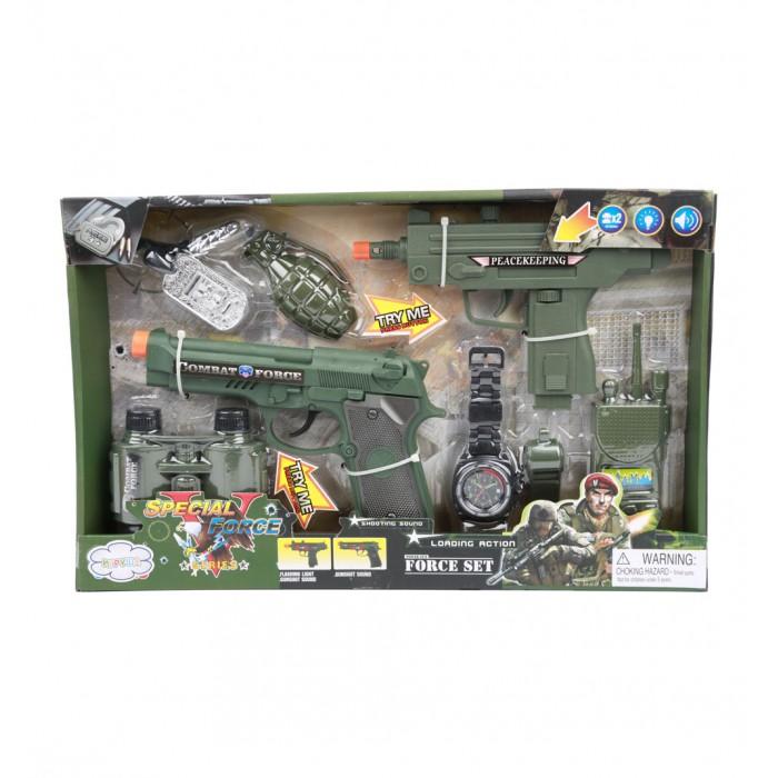 Игровые наборы Игруша Набор игровой Полиция на батарейках i-kw17805
