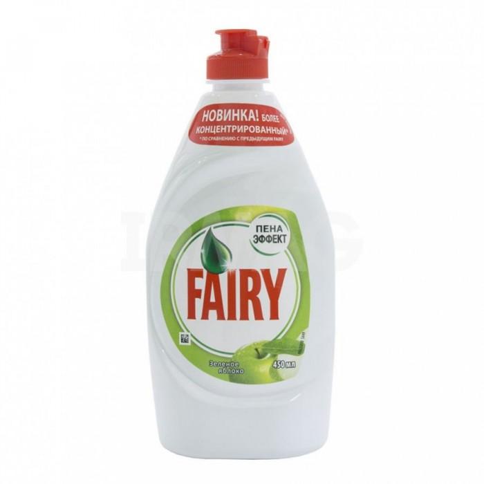 Бытовая химия Fairy P&G Средство для мытья посуды Зеленое яблоко 450мл commercial use gas triangle wheat cake baker