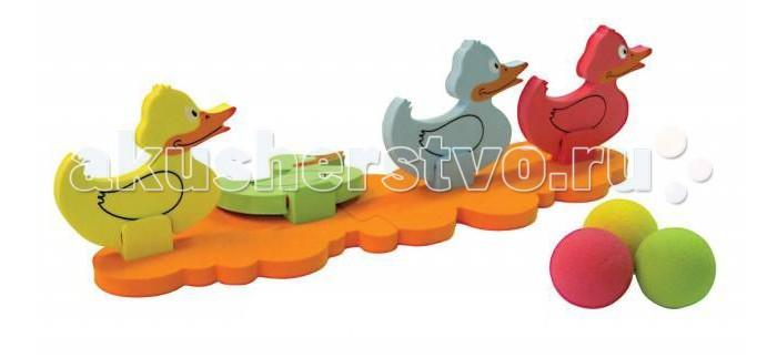 Развивающие игрушки Ouaps Игра на ловкость Сбей утенка 64008