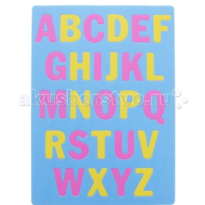 Пазлы Апплика Мозаика мягкий алфавит Английский стикер мозаика алфавит в картинках