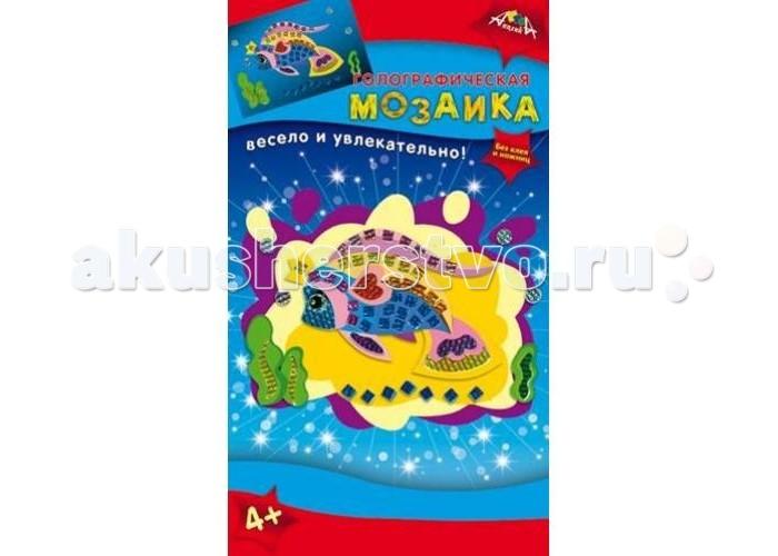 Мозаика Апплика Мозаика голографическая формат А6 Золотая рыбка мозаика апплика мозаика голографическая формат а6 кот