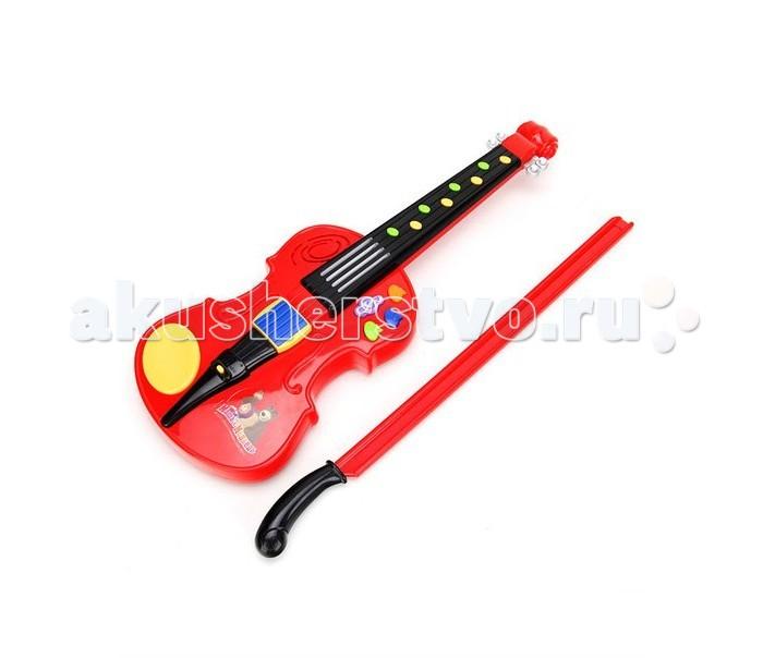 Музыкальные игрушки Умка Сенсорная скрипка Маша и медведь умка обучающий планшет маша и медведь 80 программ