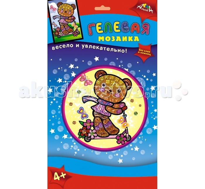 Мозаика Апплика Мозаика гелевая А6 Мишка мозаика глиттерная а6 экскаватор с2615 05
