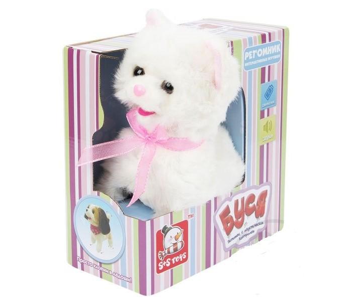 Интерактивные игрушки S+S Toys Кошечка белая