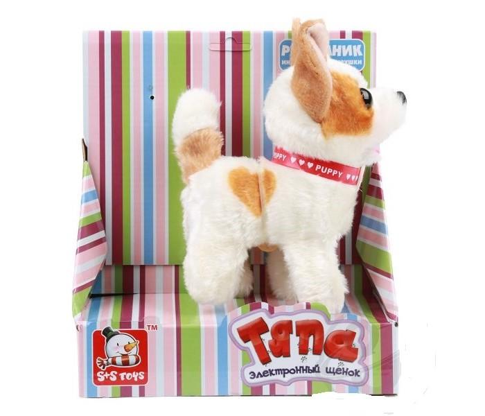 Интерактивные игрушки S+S Toys Собачка Тяпа ES00632618