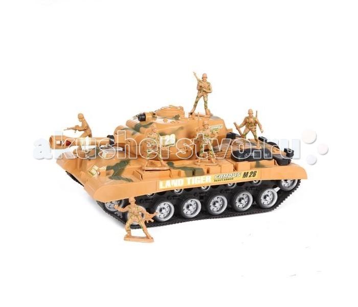 Машины S+S Toys Штурмовой Танк  нтм игрушка пластм танк в ассорт