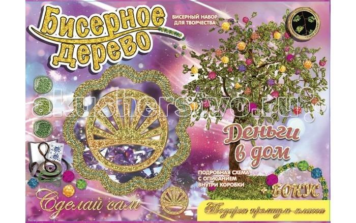 Фото Наборы для творчества Лапландия Набор для творчества Сделай сам Бисерные деревья Денежное дерево