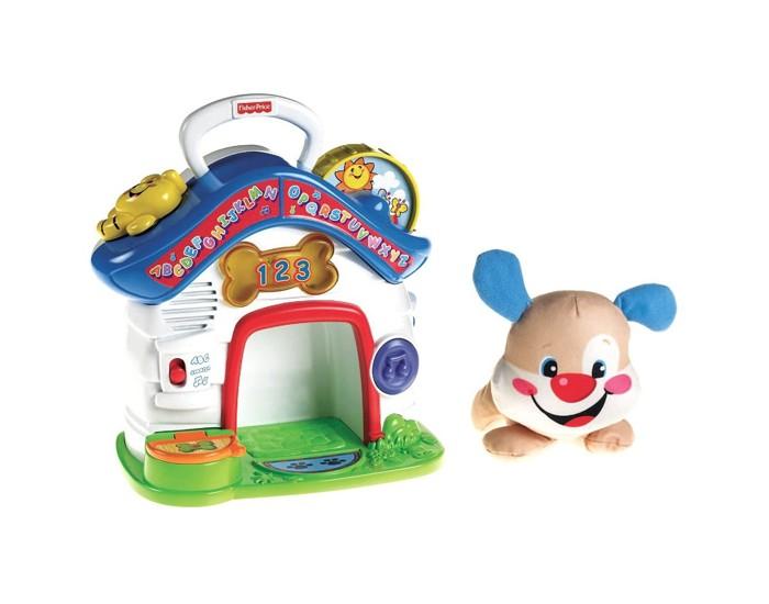 Fisher Price Mattel Обучающий центр Домик для щенка