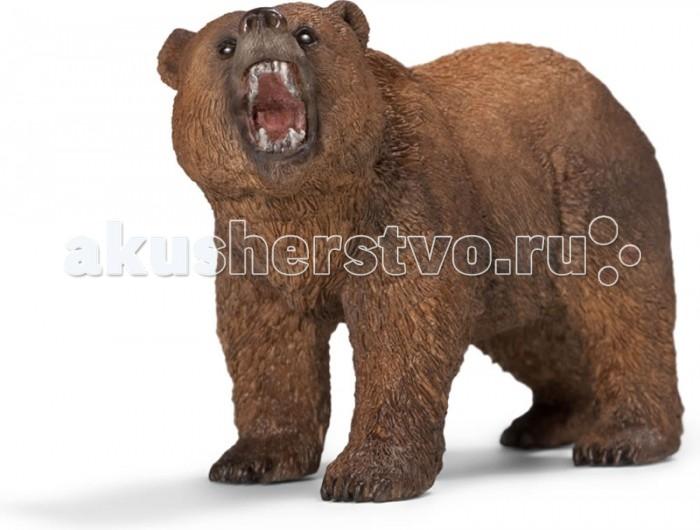 Игровые фигурки Schleich Игровая фигурка Медведь Гризли игрушка schleich фигурка андалузская кобыла