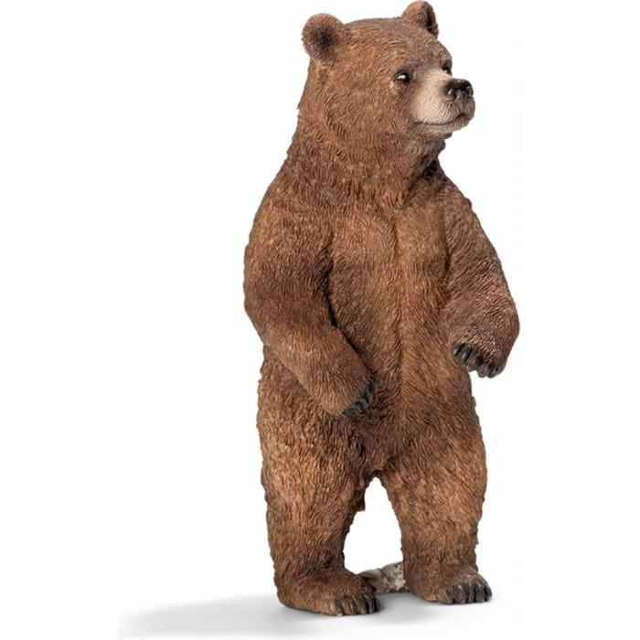Игровые фигурки Schleich Игровая фигурка Медведь Гризли самка schleich schleich кенгуру серия дикие животные