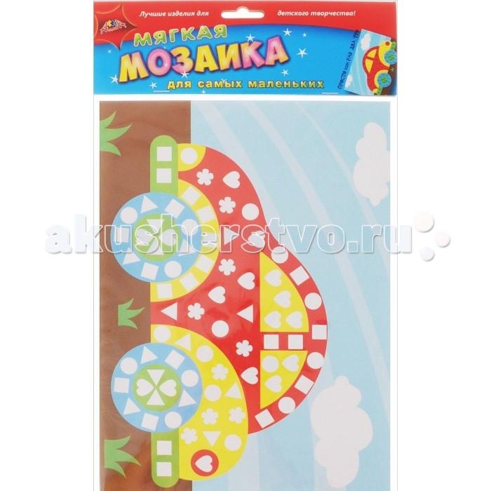 Мозаика Апплика Мягкая мозаика для самых маленьких Машина обезьянки мягкая мозаика