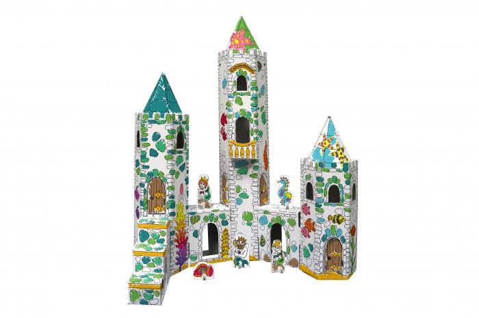 Кукольные домики и мебель CartonHouse Игровой домик из картона Замок Русалки cartonhouse игровой домик картонный мой первый дом