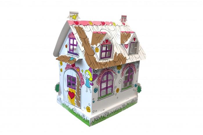 Кукольные домики и мебель CartonHouse Игровой домик из картона Кукольный домик Феи cartonhouse игровой домик картонный мой первый дом