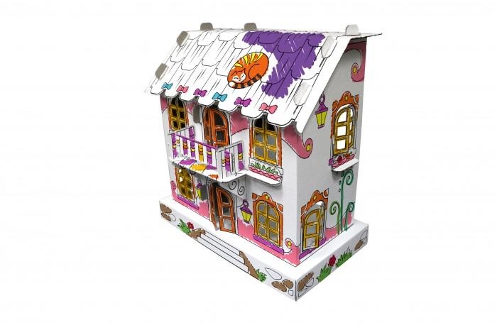 CartonHouse Игровой домик из картона Кукольный домик Джульетты