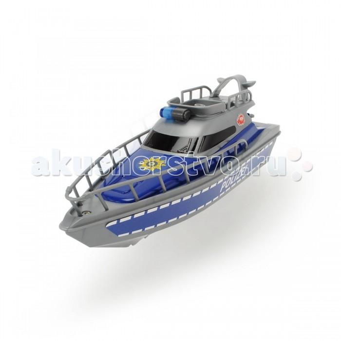 Игрушки для ванны Dickie Полицейская лодка 23 см лодка simba dickie гоночная в ассортименте