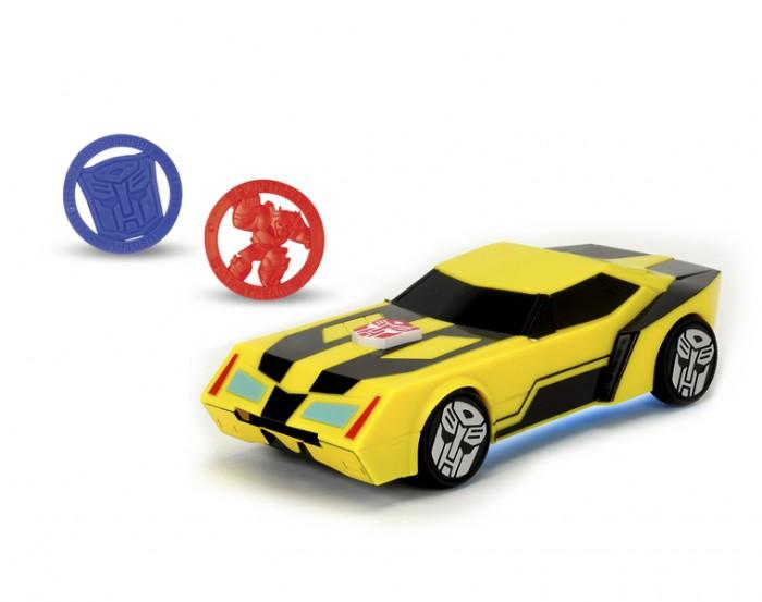 Машины Dickie Трансформеры Боевая машинка Bumblebee 20 см (свет и звук) dickie toys набор машинок bumblebee и steeljaw 2 шт