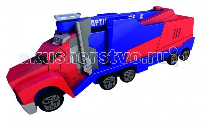 Машины Dickie Трансформеры Машинка Optimus Prime с запуском + браслет 11 см simba dickie optimus prime