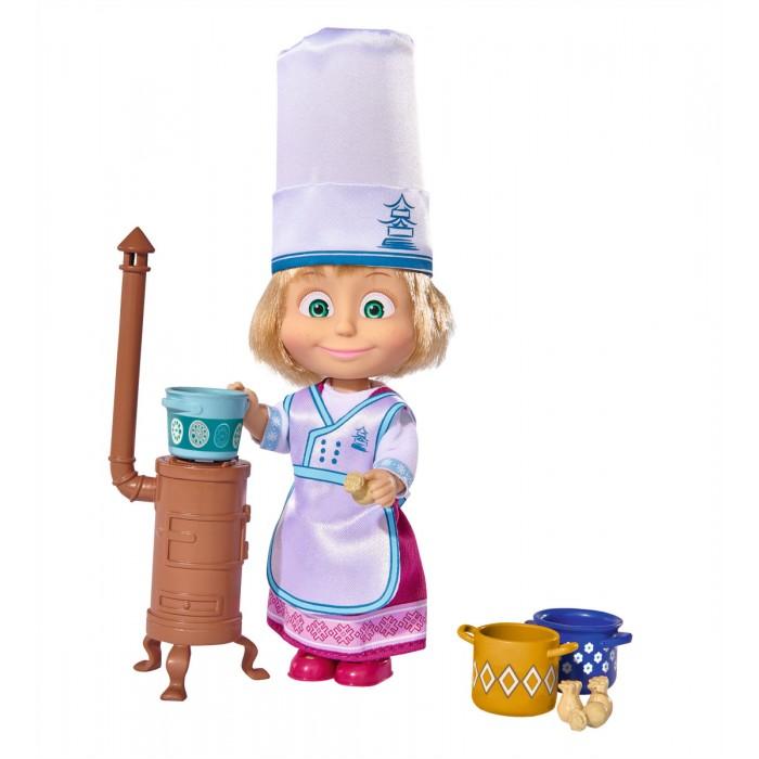 Куклы и одежда для кукол Simba Кукла Маша в одежде повара и аксессуарами 12 см туфли ecco 260073 58751 14 260073 58751