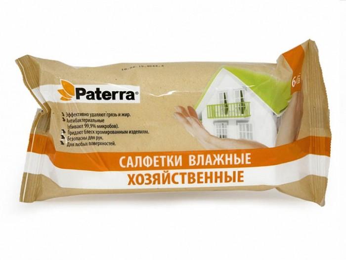 Салфетки Paterra Влажные салфетки хозяйственные 64 шт. салфетки paterra влажные салфетки с экстрактом ромашки и витамином е 64 шт