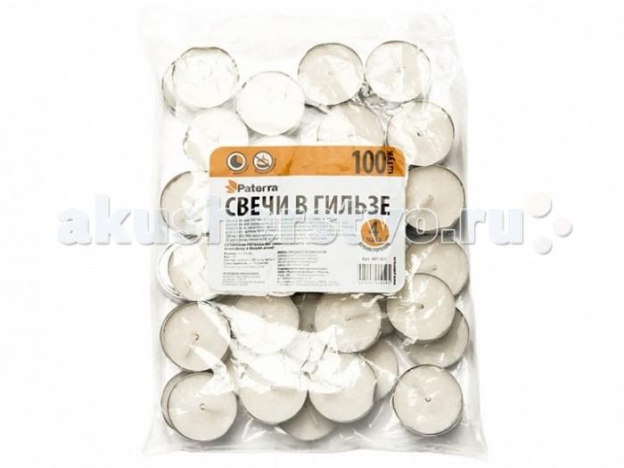 Товары для праздника Paterra Свечи в гильзе 100 шт. купить в аптеках г днепропетровска бализ 10 свечи