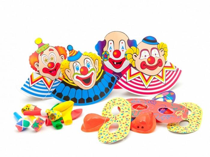 Товары для праздника Paterra Набор карнавальных аксессуаров Детский праздник 16 предметов