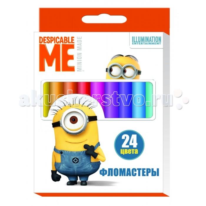 Фломастеры Universal Studios 24 цвета Гадкий Я пол ньюмен бутч кэссиди