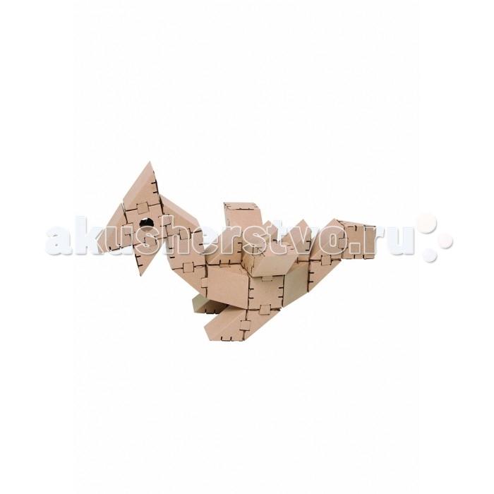 Конструкторы Yohocube Динозавр Птеро 30 элементов конструкторы yohocube конструктор йохо куб самолет