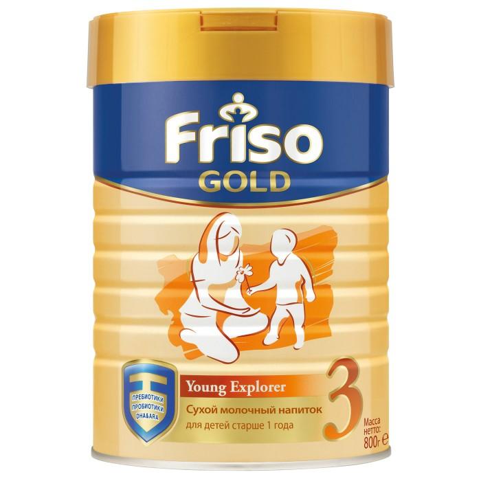 Детское питание , Молочные смеси Friso Заменитель Детское молочко New 3 Gold 800 г с 12 мес. арт: 260766 -  Молочные смеси