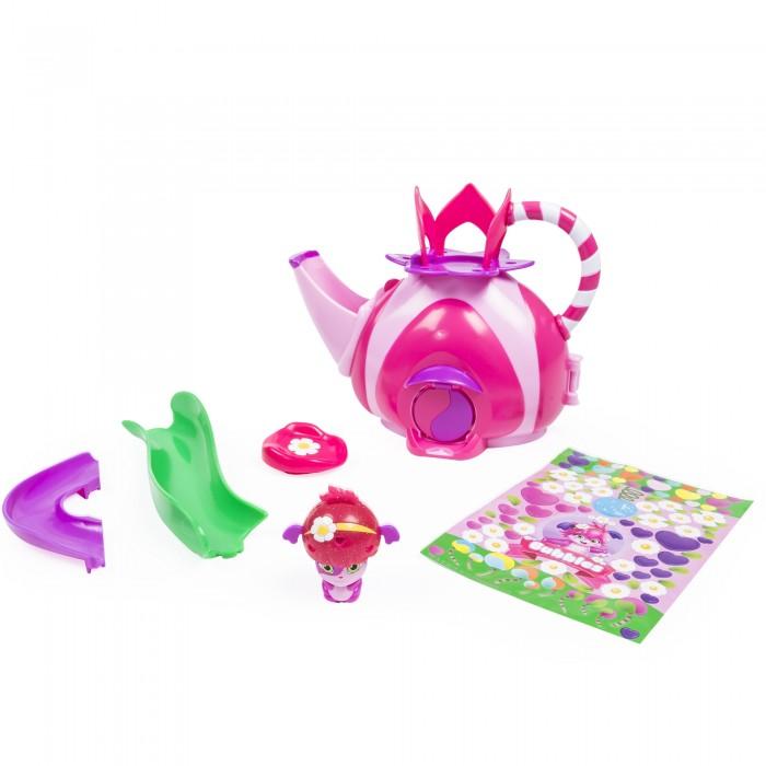 Popples Малыши-прыгуши Игровой набор Чайный домикМалыши-прыгуши Игровой набор Чайный домикPopples - это серия замечательных малышей-прыгушей и игровых наборов.   Игровой набор Popples 56306 - это оригинальный домик, в котором живут малыши Поплс! Он выполнен в виде аккуратного чайника розового цвета, с оригинальной ручкой и окошком.   Чайник раскладывается - и вот перед нами домик для прыгушей! В комплект также входит симпатичная фигурка-трансформер малыша-прыгуша.   Очень интересная и яркая игрушка наверняка понравится каждой девочке!<br>