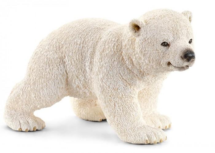 Игровые фигурки Schleich Игровая фигурка Белый медвеженок игровые фигурки schleich игровая фигурка медведь гризли