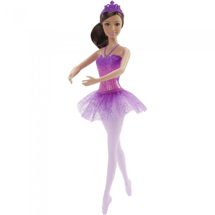 Куклы и одежда для кукол Barbie Кукла балерина шатенка 30 см  недорого