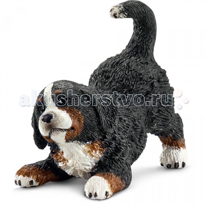 Игровые фигурки Schleich Дом животные Бернский Зенненхунд щенок сенбернар щенок schleich