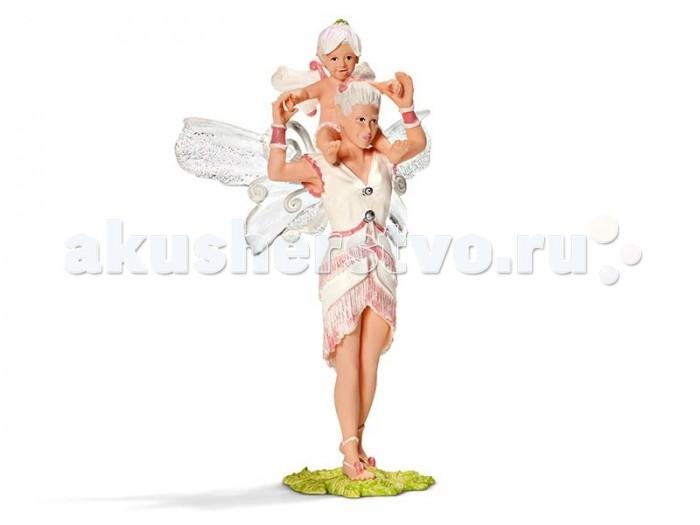 Игровые фигурки Schleich Игровая фигурка Илорис играет с Леолин schleich фигурка карликовый козел