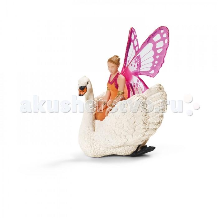 Игровые фигурки Schleich Игровая фигурка Эльф Зарина на лебеде эльф фея