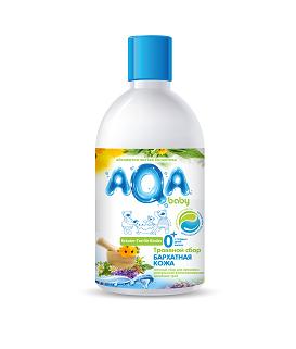 Соли и травы для купания AQA baby Травяной сбор для купания малышей Бархатная кожа 300 мл средство для купания aqa baby травяной сбор сладкий сон 300 мл