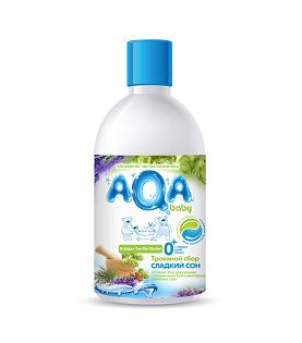 Соли и травы для купания AQA baby Травяной сбор для купания малышей Сладкий сон 300 мл средство для купания aqa baby травяной сбор сладкий сон 300 мл