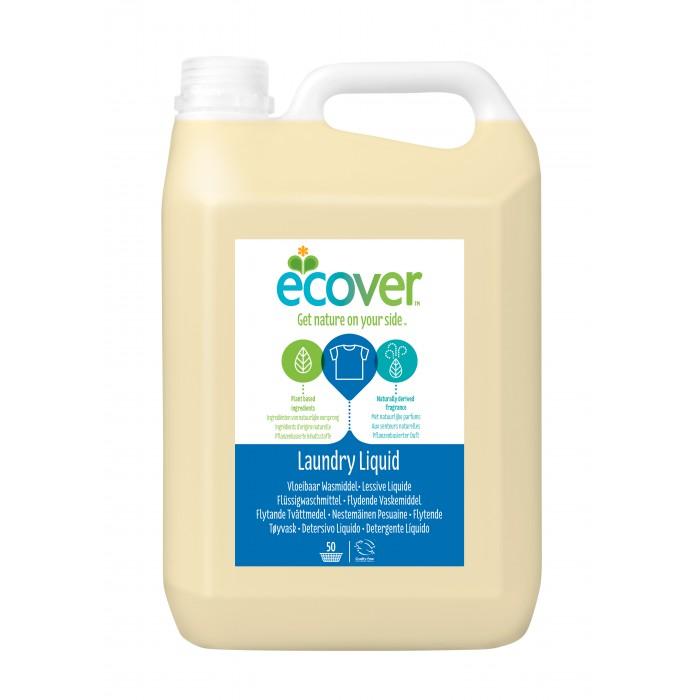 Гигиена и здоровье , Бытовая химия Ecover Экологическая жидкость для стирки 5 л 5157 арт: 261393 -  Бытовая химия