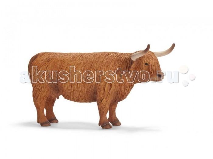 Игровые фигурки Schleich Игровая фигурка Северо-шотландская корова schleich гольштинская корова